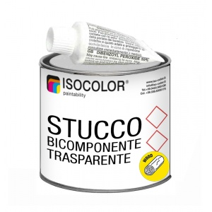TRANSPARENT TWO-COMPONENT STUCCO